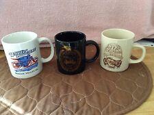 Three (3) Harley Davidson event mugs