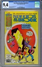 New Kids on the Block: NKOTB #1 CGC 9.4 NM Wp Harvey Comics 1990 Ernie Colon Cvr