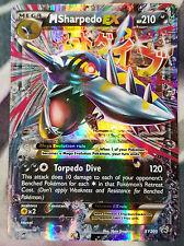 Pokemon Mega M Sharpedo XY200 Black Star Promo Card (Regular/Normal Size)