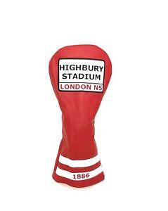 Arsenal  /  Highbury - Golf Head Cover - Driver Headcover (New)