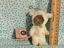 "New ListingBoyds Bear 4"" Baby Baakins Sheep ~ Mini Plush Ornament ~ *Rare* (G83)"