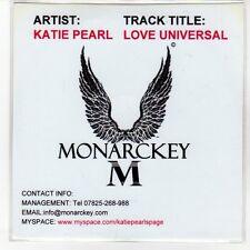 (EN817) Katie Pearl, Love Universal - DJ CD