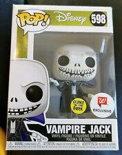 Funko Pop NBC Vampire Jack Glow GITD #598 Walgreens Exc + Protector New