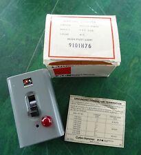 Cutler-Hammer Manual Starter 9101H76 Nos Neon Pilot Light