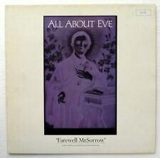 "All About Eve Farewell Mr. Sorrow 4-track 12"" Ltd Ed/Numbered/Poster Rp1263"