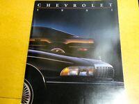 1991 CHEVROLET  FACTORY PRESTIGE COLOR DEALER  BROCHURE FULL LINE ALL MODELS
