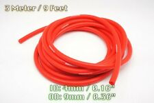 3 METRE RED SILICONE VACUUM HOSE AIR ENGINE BAY DRESS UP 4MM FIT SUPERCAR