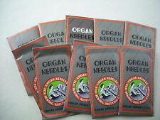 100 ORGAN Needles Bernina 320, 330, 340 532,534,540 ,540-2 ,700,709