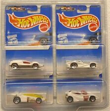 1997 HOT WHEELS WHITE ICE CAR SET Speed Machine/ Shadow Jet/ Splittin' Image +