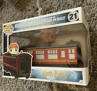 🚂 VAULTED Funko POP Rides: HP Hogwarts Express Carriage with Ron Weasley 🚂