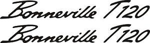 Triumph Bonneville T120 Vinyl stickers