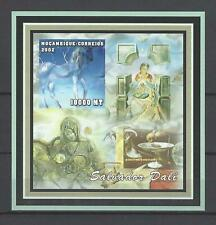 Mozambique 2002  Dali Paintings-The Happy Unicorn/Madonna of Port Ligat  MNH S/S