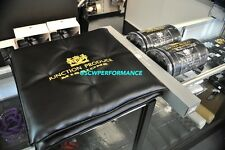 NEW Junction Produce BLACK LEATHER GOLD Seat Cushion & NECK PAD SET VIP SALE