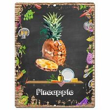 PP0900 PINEAPPLE Parking Plate Chic Sign Home Restaurant Cafe Kitchen Decor Gift