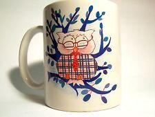 The Three Merchants - Mug Ceramic With Handle - Lord Owl - Owl