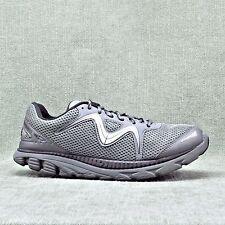 "MBT ""SPEED 16"" Cool Gray, Silver & Black Running Shoes Men's sz 9.5 EU 43.5"