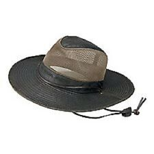 BOY SCOUT JAMBOREE COTTON SAFARI HAT LEATHER CHIN STRAP NEW SIZE M XL 2XL