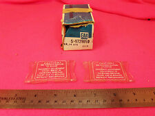 NOS 1974-1977 Corvette Camaro Chevelle Impala Seat belt Shoulder Strap Clips (2)