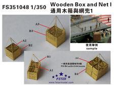 Fivestar PE 1/350 Wooden Box and Net I FS351048