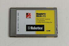 Us Robotics Xj1336 Megahertz 33.6K Pc Card Modem With Xjack 33.6Kbps Data/Fax