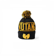 Wu Tang Clan 2015 New Original Black Yellow Bobble Beanie