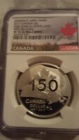 2017 150Th Anniv. Canada S$1 Our Home & Native Land F/R PF 70
