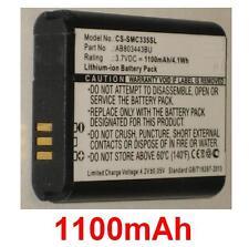 Batteria 1100mAh tipo AB803443BU Per Samsung Solido Xcover