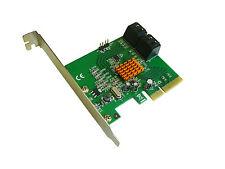 Controleur PCIE 2.0 4x -  RAID SATA III  6GB /// 4 PORTS /// MARVELL 88SE9230