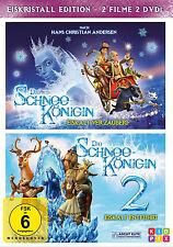 2 DVDs * DIE SCHNEEKÖNIGIN 1 + 2 - BOX # NEU OVP §