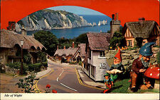 Isle of Wight AK 1976 Impression of the old Village Shankling Blackgang Gnomes