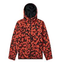 Nike NSW Tech Fleece Mens Hoodie Jacket Camo Red Size L CJ5975 603