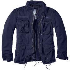 Cappotti e giacche da uomo parke blu cotone