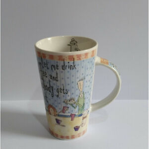 Born to Shop Mug - Let me drink coffee and nobody gets Hurt - Johnson Brothers