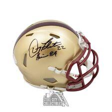 Doug Flutie Heisman 84 Autographed Boston College Speed Mini Football Helmet BAS