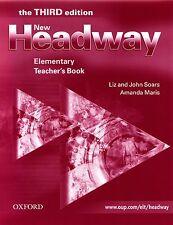 Oxford NEW HEADWAY Elementary THIRD ED Teacher's Book w Answer Key I Soars @NEW@