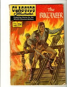 Classics Illustrated #148 The Buccaneer (Gilberton, 1969) HRN #169