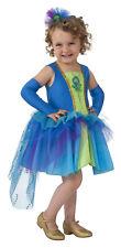Peacock Girls Child Pretty Bird Animal Halloween Costume-M