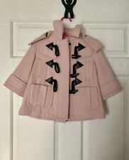 Burberry Coat Baby Girl Sz 9 Months