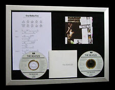 BEATLES Cry Baby Cry GALLERY QUALITY MUSIC CD FRAMED DISPLAY+EXPRESS GLOBAL SHIP