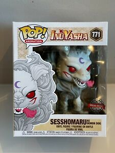 Funko Pop! Animation: Sesshomaru as Demon Dog Inuyasha #771 Brand New