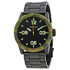 Nixon Private Black Dial Mens Stainless Steel Watch A2761428