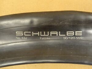 "2 x Schwalbe Fat Bike 26"" x 3.5""- 4.7"" Inner Tubes Presta"