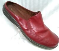 Naturalizers•Women•Slip•On•Red•Leather•Travel/Casual/Loafer•Shoes•Sz•8.5W