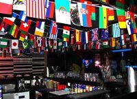 100-200 Länder Fahne Flaggen Fahnen Länder dekoration string Flagge 25-65m