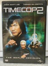 Timecop 2: The Berlin Decision (DVD, 2003) RARE BRAND NEW