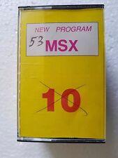 Msx NEW Program msx n.10