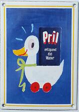 Pril Ente Werbeschild Spülmittel Emailschild Email Schild Emailschilder 14x10cm