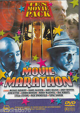 MOVIE MARATHON Ten Movie Pack DVD All Zone