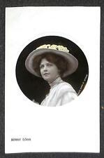 RPPC MARIE LOHR ENGLAND ACTRESS EMBOSSED STUDIO REAL PHOTO POSTCARD (c. 1907)
