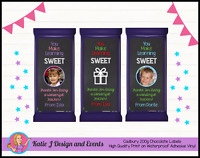 PERSONALISED TEACHERS GIFT CHRISTMAS XMAS CHOCOLATE BAR LABELS GIFTS PRESENTS